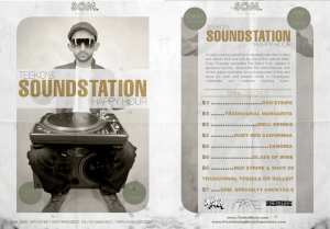 SOUNDSTATION HAPPY HOUR EVERY THURSDAY @ SOM SF